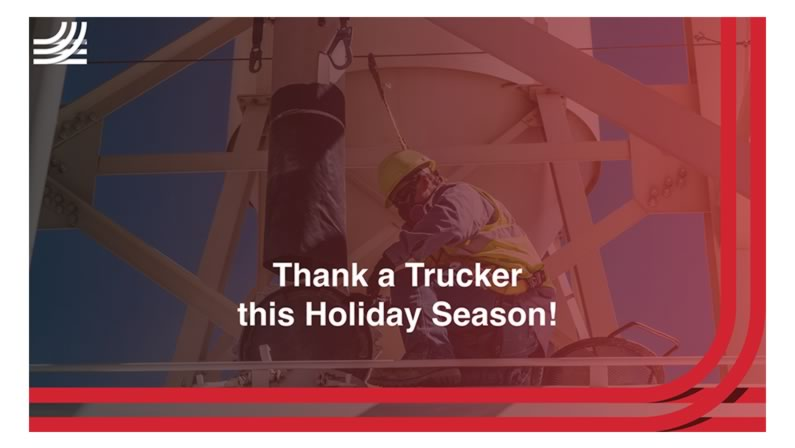 This Holiday Season, Thank a Trucker